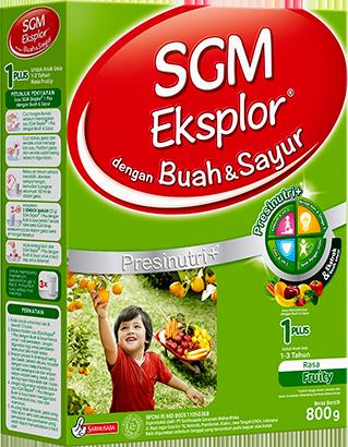 SGM Eksplor 1PLUS dengan Buah & Sayur