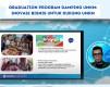 Danone SN Bersama Kampus Bisnis Umar Usman & Karya Masyarakat Mandiri Gelar Program Pelatihan UMKM
